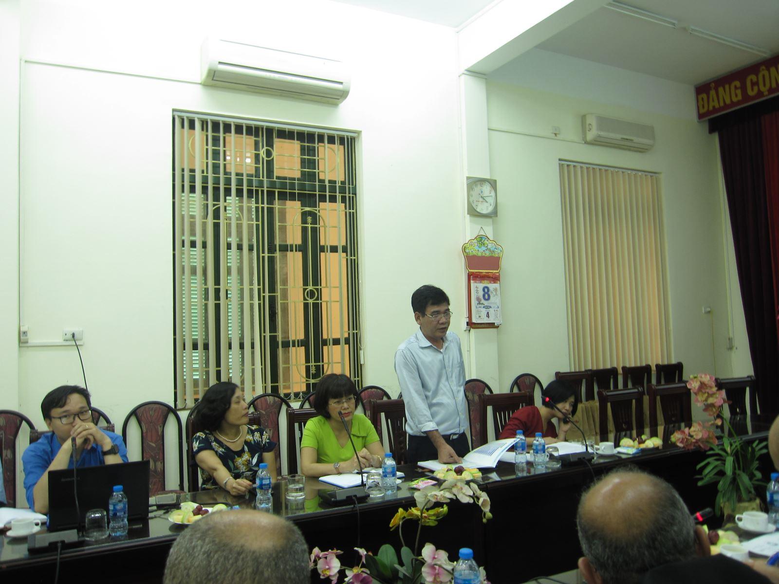 PGS. TS. Bùi Quang Thuật - Phó Viện trưởng phát biểu chào mừng