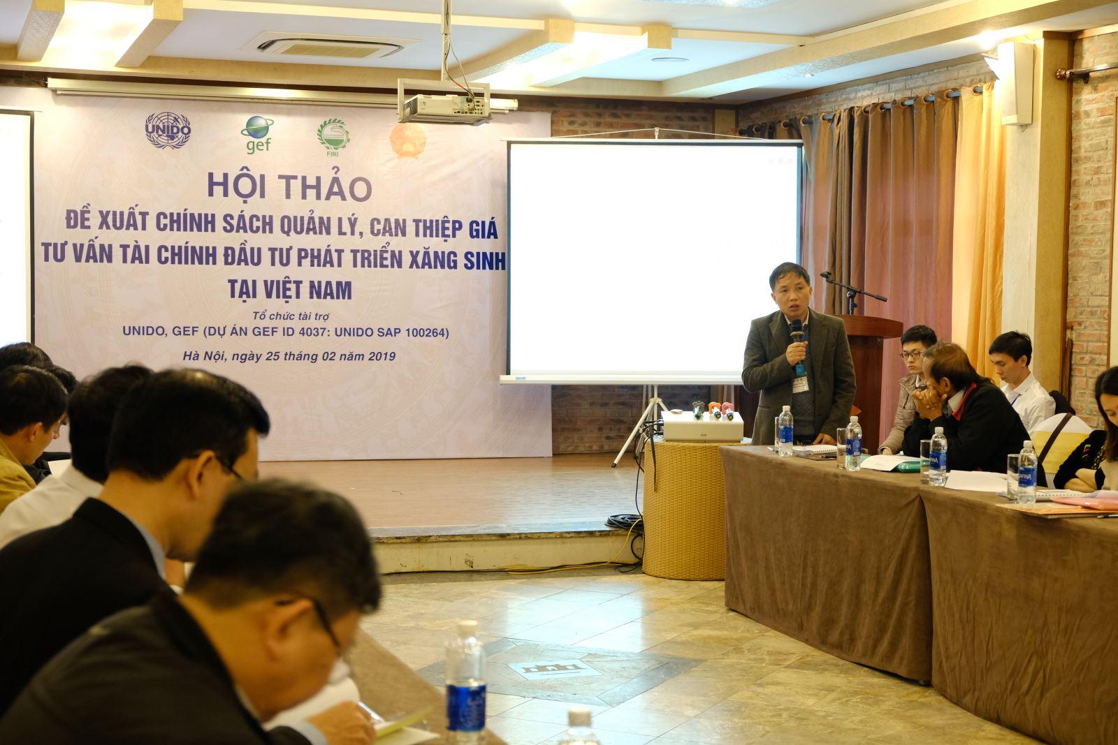 PGS. TS. Vũ Nguyên Thành- Phó Viện trưởng Viện Công nghiệp thực phẩm, Điều phối viên Dự án kết luận Hội thảo (Ảnh: Đinh Đức Hiền)