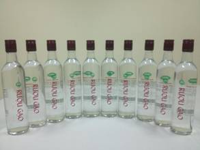 Sản phẩm rượu gạo sản xuất thử nghiệm theo quy trình công nghệ sản xuất công nghiệp tại Xưởng thực nghiệm Viện Công nghiệp Thực phẩm